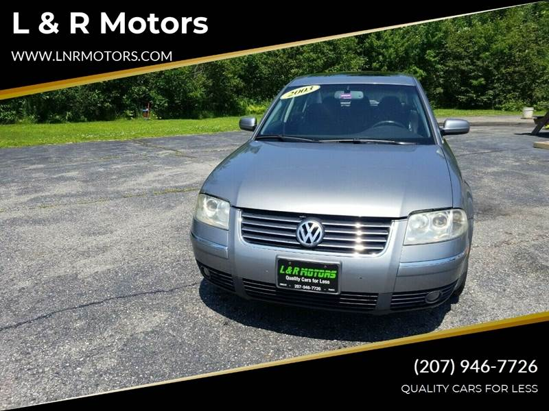 2003 Volkswagen Passat for sale in Greene, ME