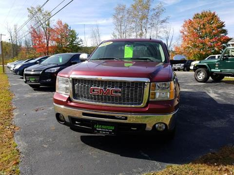 2009 GMC Sierra 1500 for sale at L & R Motors in Greene ME