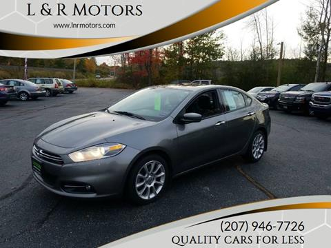 2013 Dodge Dart for sale at L & R Motors in Greene ME