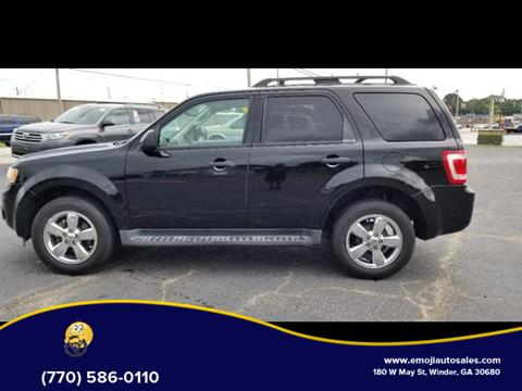 2012 Ford Escape for sale in Winder, GA
