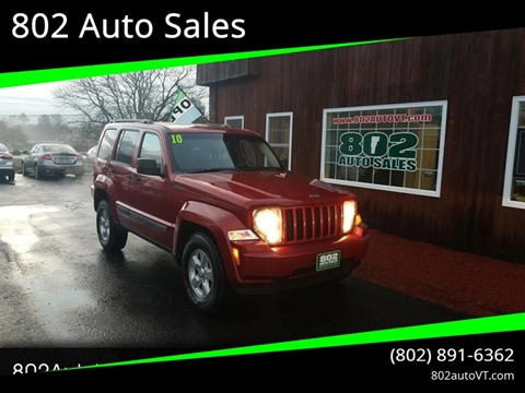 2010 Jeep Liberty for sale in Milton, VT