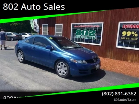 2010 Honda Civic for sale in Milton, VT