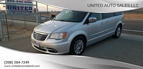 2011 Chrysler Town and Country for sale in Boise, ID