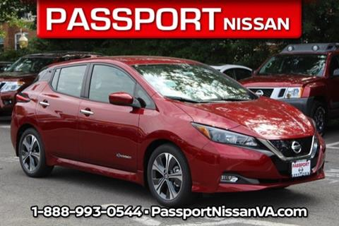 2018 Nissan LEAF for sale in Alexandria, VA
