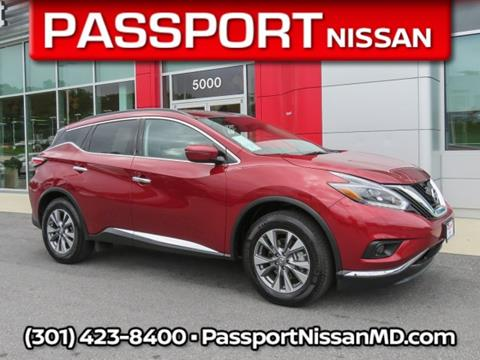 Delightful 2018 Nissan Murano For Sale In Marlow Heights, MD
