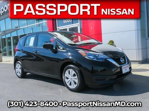 2018 Nissan Versa Note for sale in Marlow Heights, MD