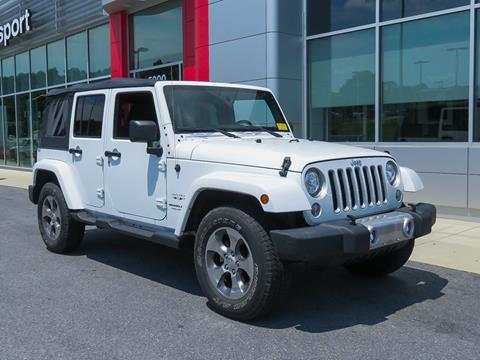 2018 Jeep Wrangler Unlimited for sale in Marlow Heights, MD