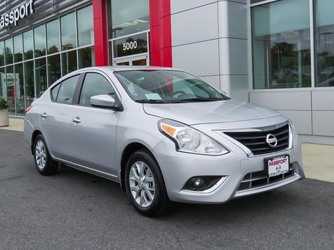 2019 Nissan Versa for sale in Marlow Heights, MD