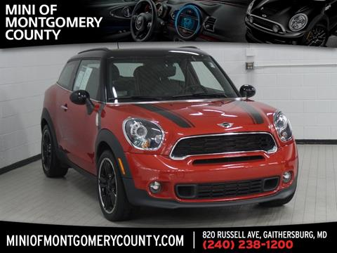 2013 MINI Paceman for sale in Gaithersburg, MD