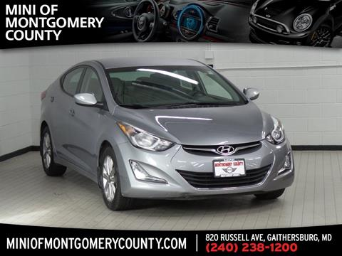 2015 Hyundai Elantra for sale in Gaithersburg, MD