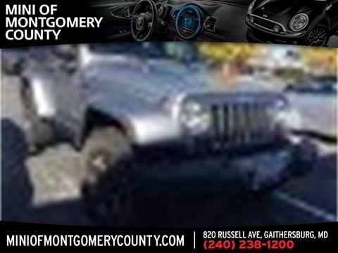 2015 Jeep Wrangler for sale in Gaithersburg, MD