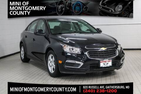 2016 Chevrolet Cruze Limited for sale in Gaithersburg, MD