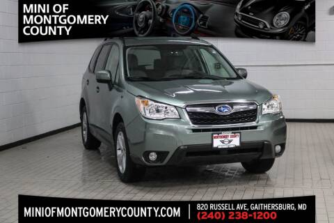 2016 Subaru Forester for sale in Gaithersburg, MD