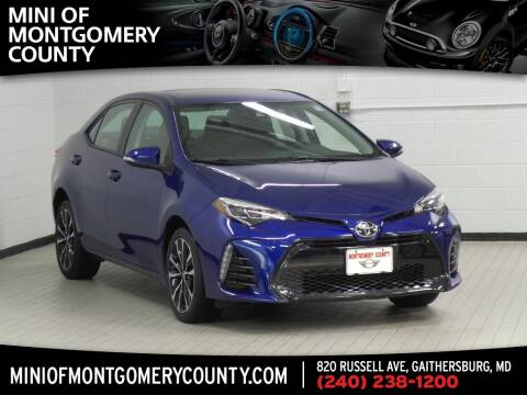 2017 Toyota Corolla for sale in Gaithersburg, MD