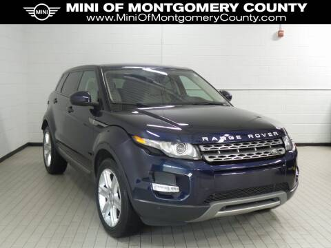 2015 Land Rover Range Rover Evoque Pure Plus for sale at MINI of Montgomery County in Gaithersburg MD