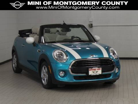 2017 MINI Convertible Cooper for sale at MINI of Montgomery County in Gaithersburg MD