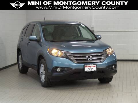 2014 Honda CR-V EX for sale at MINI of Montgomery County in Gaithersburg MD