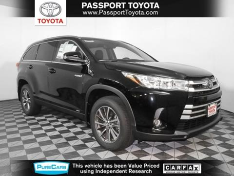 2019 Toyota Highlander Hybrid For Sale In Marlow Heights, MD
