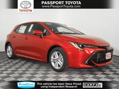 2019 Toyota Corolla Hatchback for sale in Marlow Heights, MD