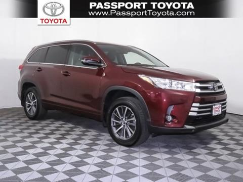 2018 Toyota Highlander for sale in Marlow Heights, MD