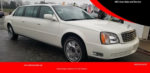 2000 Cadillac PROFESSIONAL CH for sale in New Castle, DE
