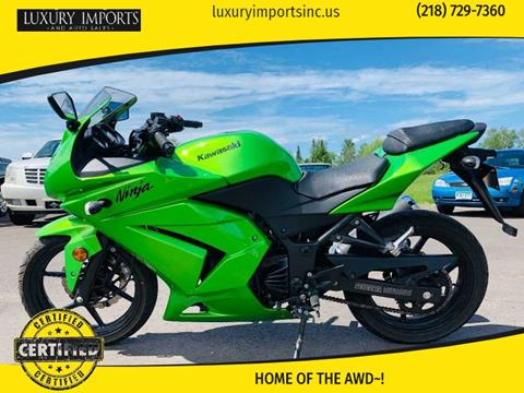 2012 Kawasaki Ninja 250R for sale in Hermantown, MN