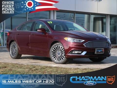 2017 Ford Fusion Titanium for sale at BOB CHAPMAN FORD INC in Marysville OH