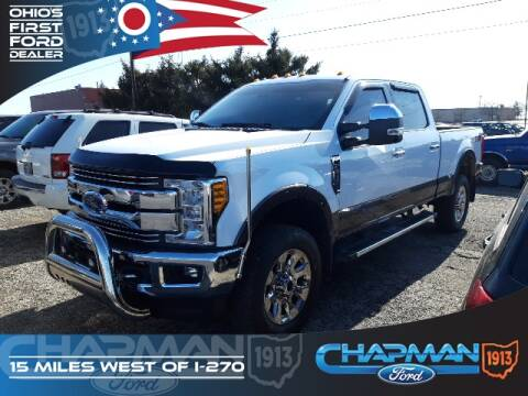 2017 Ford F-350 Super Duty for sale at BOB CHAPMAN FORD INC in Marysville OH