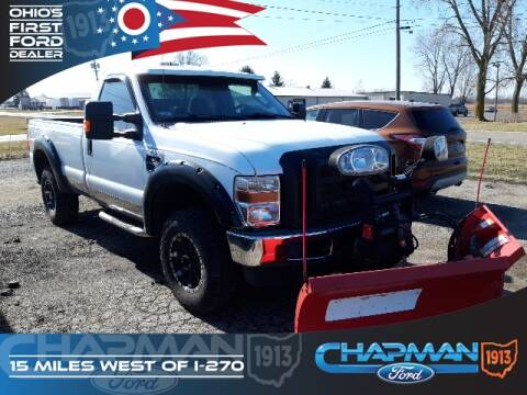 2010 Ford F-250 Super Duty XL for sale at BOB CHAPMAN FORD INC in Marysville OH
