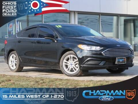 2018 Ford Fusion SE for sale at BOB CHAPMAN FORD INC in Marysville OH