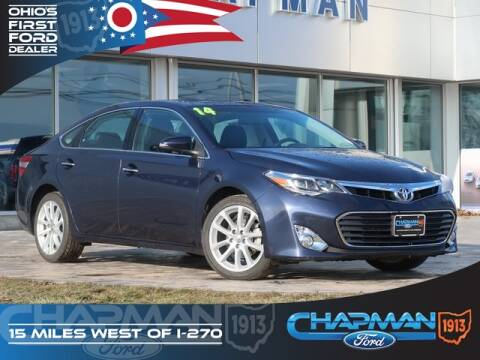 2014 Toyota Avalon Limited for sale at BOB CHAPMAN FORD INC in Marysville OH