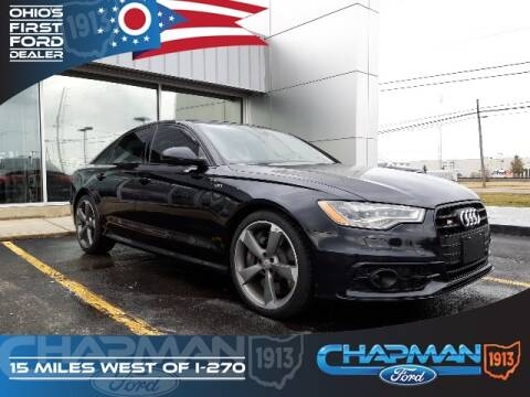2014 Audi S6 4.0T quattro for sale at BOB CHAPMAN FORD INC in Marysville OH