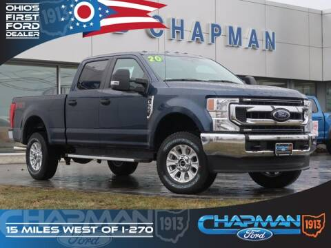 2020 Ford F-350 Super Duty for sale at BOB CHAPMAN FORD INC in Marysville OH