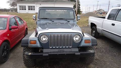 1998 Jeep Wrangler for sale in Medina, OH