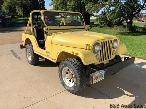 1976 Jeep CJ-5 for sale in Brookings, SD
