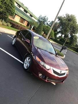 2010 Acura TSX for sale at Mendz Auto in Orlando FL