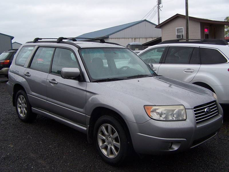 2008 Subaru Forester for sale at B & J Auto Sales in Tunnelton WV