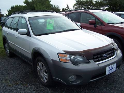 2005 Subaru Outback for sale at B & J Auto Sales in Tunnelton WV