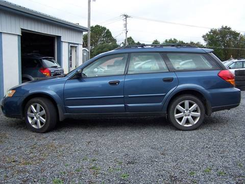 2007 Subaru Outback for sale at B & J Auto Sales in Tunnelton WV
