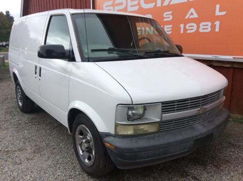 2003 Chevrolet Astro Cargo for sale in Spokane, WA