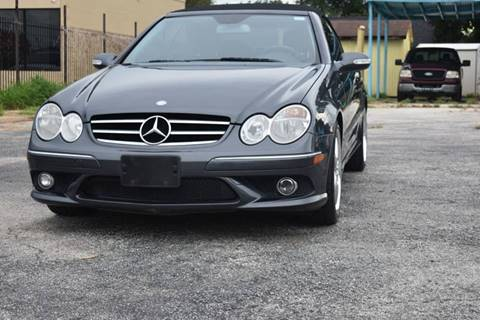 2008 Mercedes-Benz CLK for sale in Houston, TX