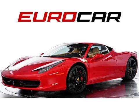 2012 Ferrari 458 Italia For Sale Carsforsale