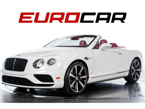 2016 Bentley Continental for sale in Costa Mesa, CA