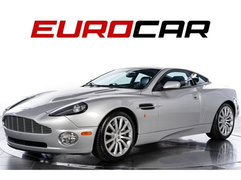 Aston Martin V12 Vanquish For Sale In Vermont Carsforsale Com