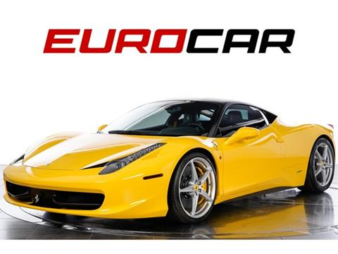 Ferrari 458 Italia For Sale In Williston Nd Carsforsale Com