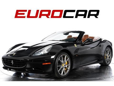 2012 Ferrari California for sale in Costa Mesa, CA