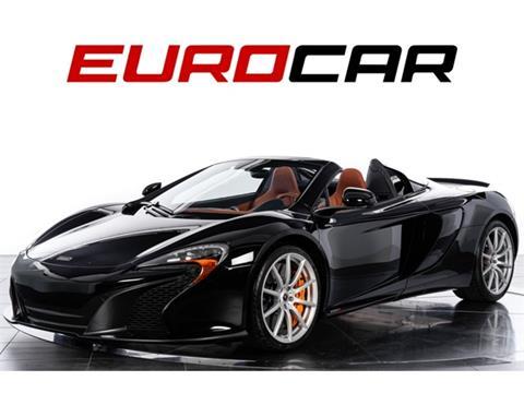 2015 McLaren 650S Spider for sale in Costa Mesa, CA