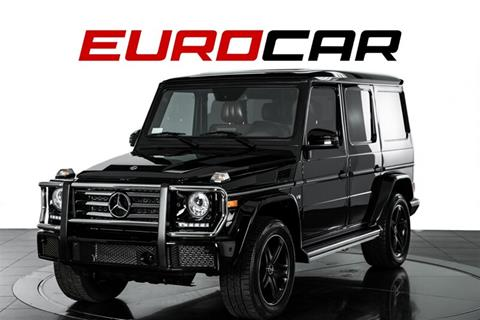 2018 Mercedes-Benz G-Class for sale in Costa Mesa, CA