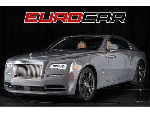 2018 Rolls-Royce Wraith for sale in Costa Mesa, CA
