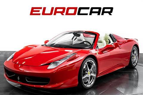 2014 Ferrari 458 Spider >> 2014 Ferrari 458 Spider For Sale In Costa Mesa Ca